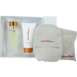 Tuscan Soul By Salvatore Ferragamo Edt Spray 4.2 Oz & Body Scrub 5 Oz & Cushion at Sears.com