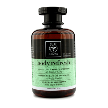 Apivita Body Refresh Refreshing Bath And Shower Gel 300Ml/10.2Oz at Sears.com