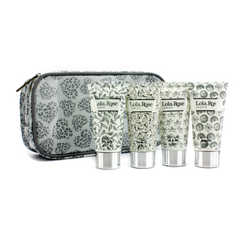 Lola Rose Energising Rock Crystal Travel Set: Shower Gel + Body Lotion + Hand & Nail Cream + Bubble Bath + Bag 4Pcs+1Bag at Sears.com